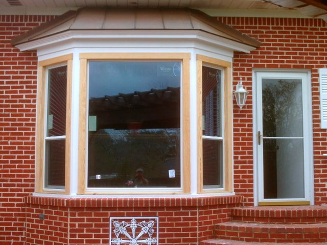 New picture windows and storm door williams siding and for New windows and doors